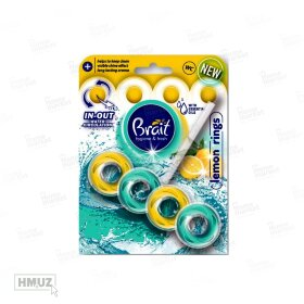 TOILET BLOCK BRAIT блоки для туалета LEMON RINGS 40 гр